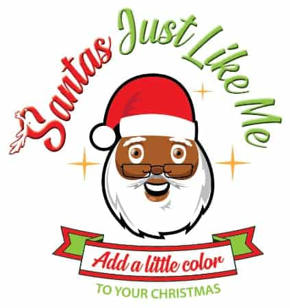 Santas just like me logo
